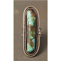 NAVAJO INDIAN RING (LEO BEGAY JR)