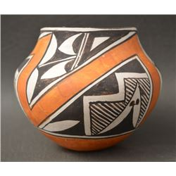 ACOMA INDIAN POTTERY JAR (LENO)