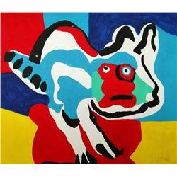 Karel Appel, Dutch (1921 - 2006): CAT.