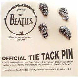 THE BEATLES TIE TAC PIN SET.