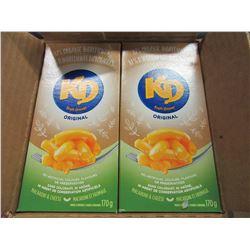 KRAFT DINNER 81% ORGANIC (12 BOXES) - PER CASE