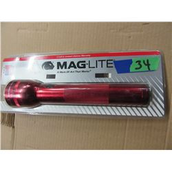 NEW - MAG LITE (RED)