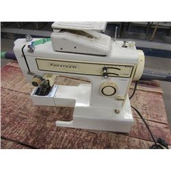 KENMORE SEWING MACHINE WITH FOOT PEDAL