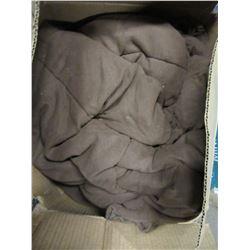 BOX WITH BROWN SLEEPING BAG