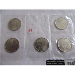 2012 CANADA (5 PROOF MINT SEALED) QUARTER SET