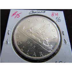 1965 BU CANADA SILVER DOLLAR