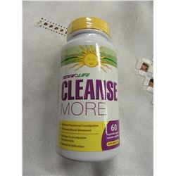 RENEW LIFE CLEANSE MORE (60 CAPSULES) - PER BOTTLE