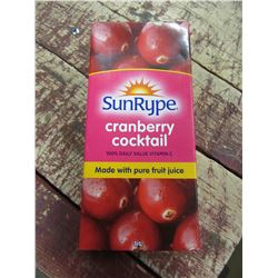 SUNRYPE CRANBERRY COCKTAIL (1L) - PER CTN