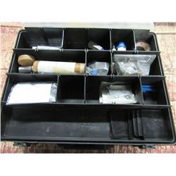 DOUBLE SIDED ORGANIZER BOX WITH ASSORTED FITTINGS & PARTS
