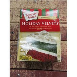 DUNCAN HINES HOLIDAY VELVETS CAKE MIX (500 G) - PER BOX