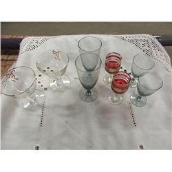 BOX WITH ASSORTED STEMWARE