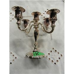 SILVER STYLE CANDLE HOLDER