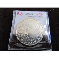 1996 MCINTOSH CANADA SILVER DOLLAR