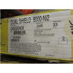 DUAL SHIELD 8000-N2 MIG WIRE - PER BOX