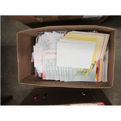 BOX OF ASSORTED GIFT CARDS - PER BOX