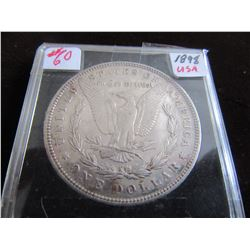1898 MORGAN USA SILVER DOLLAR