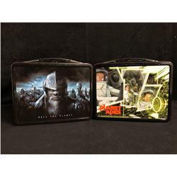 PLANET OF THE APES LUNCHBOXES W/ THERMOS' LOT