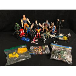 TOY FIGURES LOT