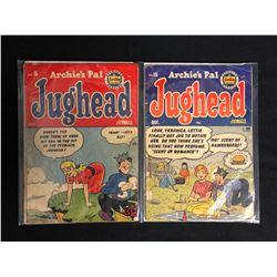 VINTAGE ARCHIE'S PAL JUGHEAD COMIC BOOK LOT #8, #15 (ARCHIE MAGAZINE)