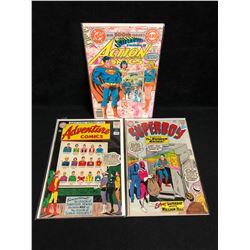 DC COMICS BOOK LOT (ADVENTURE, ACTION, SUPERBOY)