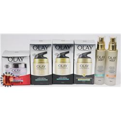 LOT OF OLAY SKIN CARE PRODUCT