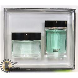 MEN'S MONT BLANC PRESENCE GIFT SET WITH SPRAY AND