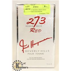 WOMAN'S 273 RODEO DRIVE RED SPRAY BY FRED HAYMANS