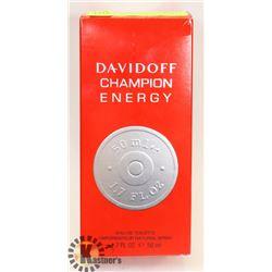 MENS 50 ML ENERGY BY DAVIDOFF CHAMPION