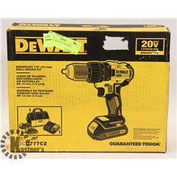DEWALT DCD777C2 20V DRILL.