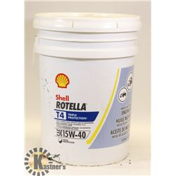 SHELL ROTELLA 15W40 MOTOR DIESEL OIL 19L