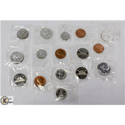 LOT OF ASSORTED SEALED PROOF LIKE 1963 COINS