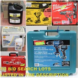 FEATURED NEW TOOLS AND MOTOR OIL