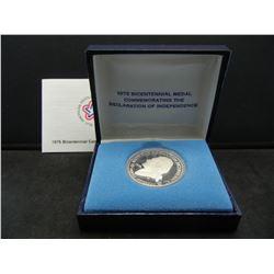 Silver Bicentennial Medal. Proof.