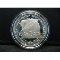 Silver Constitution Dollar