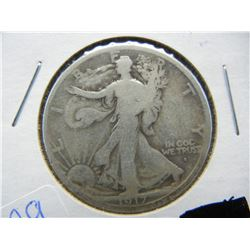 1917 S obv Mintmark Walking Liberty. Very great quality