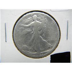 1923 S Walking Liberty coin.