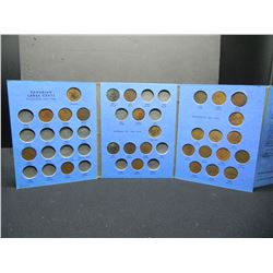 Canada Large cent collection. 1859, 76H, 81H (29) Coins