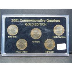 Gold Edition 2001 25C set