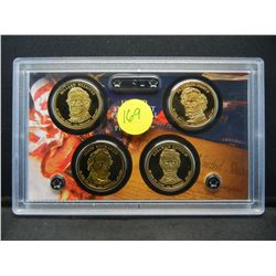 2010 Proof Dollar collection
