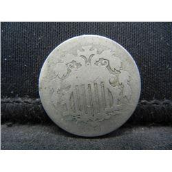 1882 Key date Shield nickel
