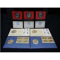 Bicentennial collectors pack. (7) Coins