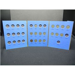 Partial set of V Nickels. (20) Coins