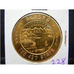 1959 ALASKA Commemorative of Statehodd  dollar.