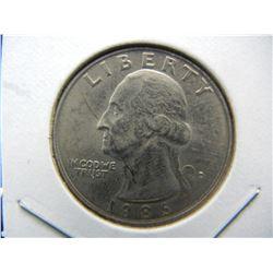 1986-D semi key Washington BU Quarter