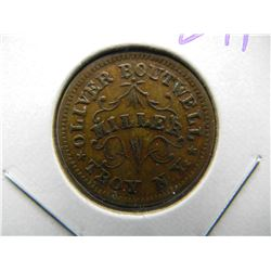1863 Troy New York CIVIL WAR TOKEN.