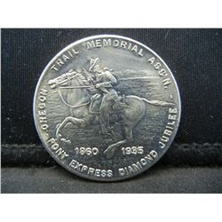 Pony Express Oregon Trial Commemorative Dollar