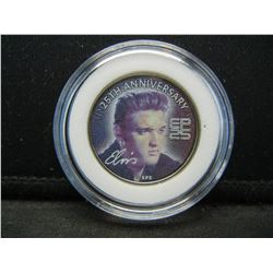 2002 ELVIS THE KING Coin 25th Anniversary