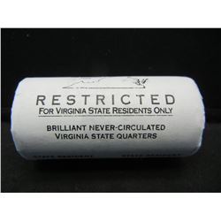 Roll of 2000 Washington State Quarters, Virginia