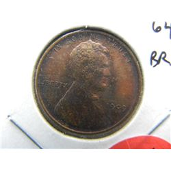 1909 Lincoln cent.