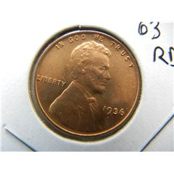 1936 Lincoln cent.